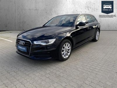brugt Audi A6 Avant 2,0 TDI 177HK Stc 6g - Personbil - Sortmetal