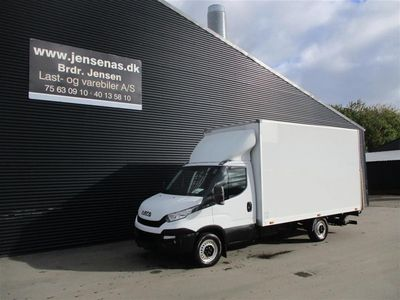 brugt Iveco Daily 35S13 2,3 D Alu.kasse m/lift 126HK Ladv./Chas. 2014