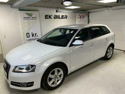 brugt Audi A3 Sportback 2,0 TDI DPF Ambition 140HK 5d 6g