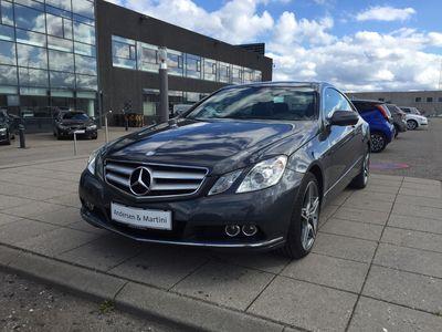 brugt Mercedes E350 3,0 CDI BlueEfficiency 231HK 2d 7g Aut.
