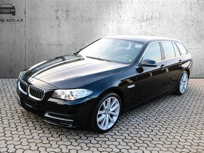 käytetty BMW 530 d Touring 3,0 D 258HK Stc 8g Aut. - Personbil - Sort