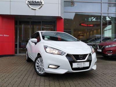 brugt Nissan Micra 0,9 IG-T Acenta Start/Stop 90HK 5d