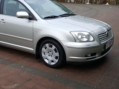 brugt Toyota Avensis 1,8 Linea Sol 129HK Stc