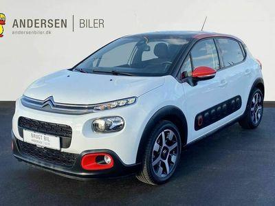 brugt Citroën C3 1,5 Blue HDi Attaque+ start/stop 100HK 5d