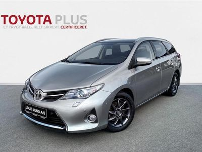 brugt Toyota Auris 2,0 D-4D DPF T2+ 124HK Stc 6g