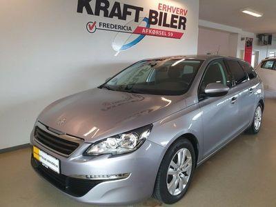 brugt Peugeot 308 1,6 BlueHDi 120 Active+ SW Van