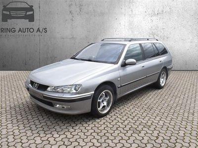brugt Peugeot 406 1,8 XS4 117HK Stc - Personbil - Sølvmetal