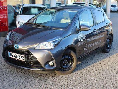 brugt Toyota Yaris Hybrid 1,5 Hybrid Premium Aut 100HK 5d