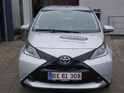 brugt Toyota Aygo 1,0 VVT-I X-Play + Touch X-Shift 69HK 5d Aut.