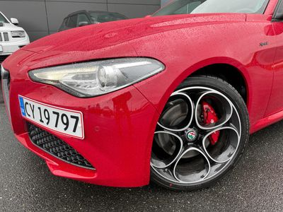 brugt Alfa Romeo Giulia 2,0 Turbo Evoluzione 200HK 8g Aut. B