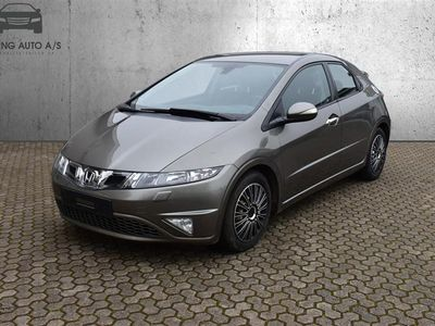 brugt Honda Civic 1,8 Executive 140HK 5d 6g - Personbil - koksmetal
