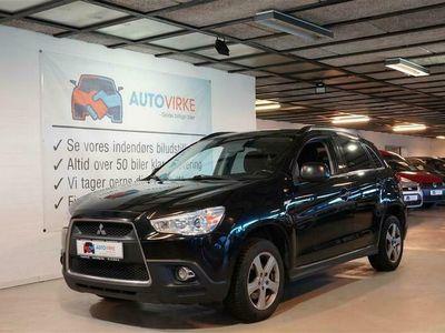 brugt Mitsubishi ASX 1,8 DI-D Invite 2WD 150HK 5d 6g