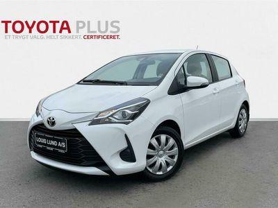 brugt Toyota Yaris 1,5 VVT-I T2 112HK 5d 6g A+