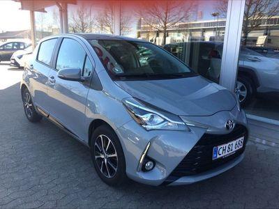 brugt Toyota Yaris 1,5 VVT-I T3 Smartpakke 111HK 5d 6g