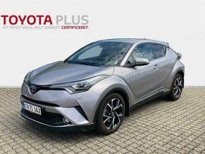 brugt Toyota C-HR 1,8 Hybrid C-LUB Premium Selected Alcanta Multidrive S 122HK 5d Aut.