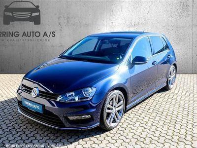 używany VW Golf 1,4 TSI BMT R-Line DSG 150HK 5d 7g Aut. - Personbil - mørkblåmetal