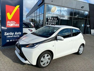 brugt Toyota Aygo VVT-i x-play Touch