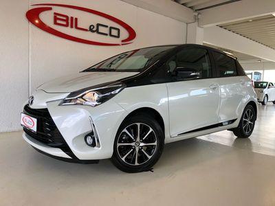 brugt Toyota Yaris 1,5 VVT-I T3 Premiumpakke 111HK 5d 6g