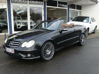 brugt Mercedes CLK280 3,0 Cabriolet Avantgarde aut.