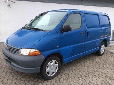 brugt Toyota HiAce 2,5 D-4D 102HK Van