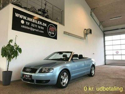 brugt Audi A4 Cabriolet 1,8 T 163 Multitr.