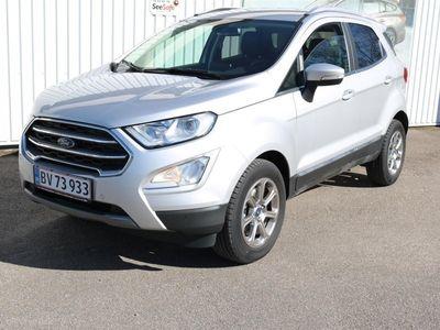 gebraucht Ford Ecosport 1,0 EcoBoost Titanium 125HK 5d