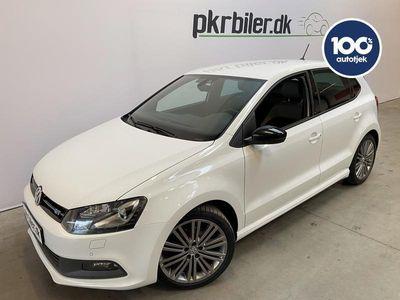 brugt VW Polo 1,4 TSI BMT ACT DSG7 BlueGT 150HK aut 5d