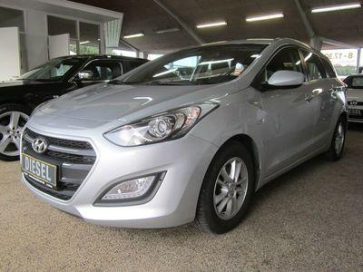 brugt Hyundai i30 1,6 CRDi 110 Premium CW