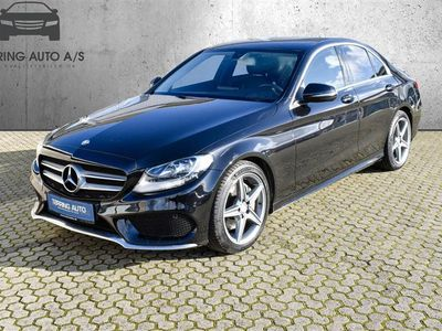 brugt Mercedes C200 d 2,1 D Business 7G-Tronic Plus 136HK 7g Aut. - Personbil - sortmetal
