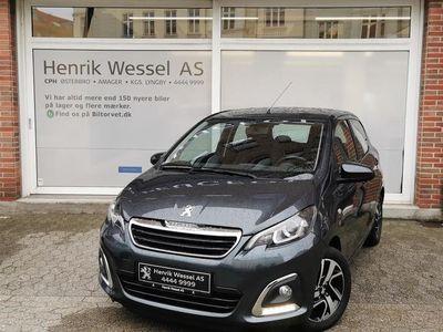 brugt Peugeot 108 1,0 e-Vti More+ Metal 69HK 5d A++