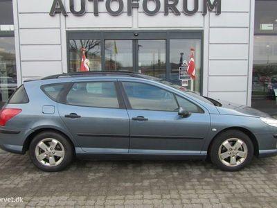 brugt Peugeot 407 SW 1,6 HDI XR 109HK Stc