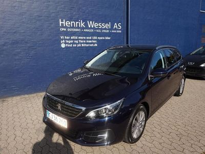 brugt Peugeot 308 SW 1,5 BlueHDi Selection Sky 130HK Stc 6g A++