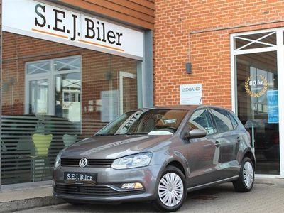 brugt VW Polo 1,4 TDI BMT Comfortline 90HK 5d A++