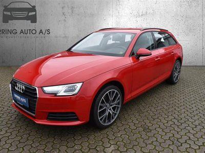 brugt Audi A4 Avant 2,0 TFSI S Tronic 190HK Stc 7g Aut. - Personbil - rød