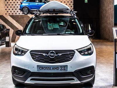 brugt Opel Crossland X 1,2 Enjoy 81HK 5d - Personbil - hvid
