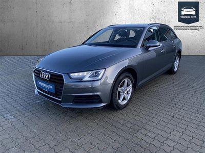 brugt Audi A4 Avant 2,0 TFSI S Tronic 190HK Stc 7g Aut. - Personbil - Grå