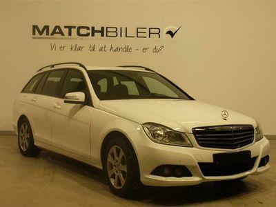 brugt Mercedes C220 d T 2,1 Bluetec 170HK Stc