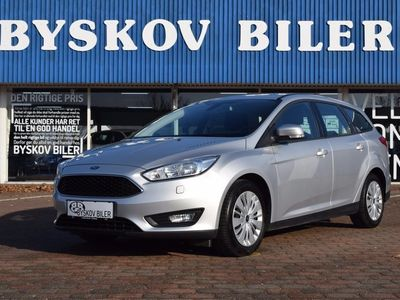 brugt Ford Focus 1,5 TDCi 120 Edition st.car