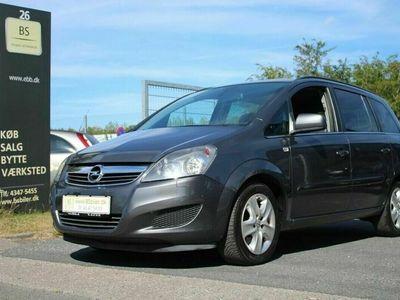 brugt Opel Zafira 1,7 CDTi 125 Enjoy 7prs