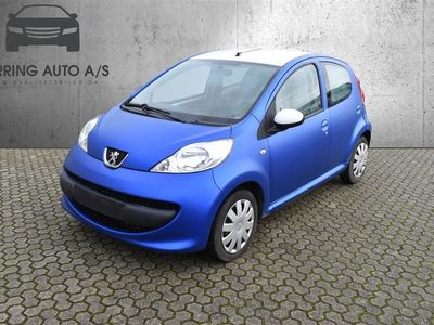 brugt Peugeot 107 1,0 12V Urban 68HK 5d - Personbil - blå