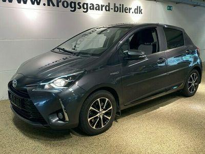 brugt Toyota Yaris Hybrid 15 Hybrid Limited E-CVT 100HK 5d Trinl. Gear