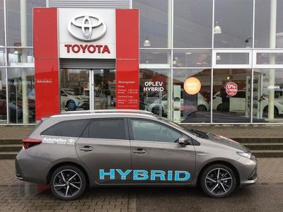 gebraucht Toyota Auris Touring Sports 1,8 B/EL Selected Bitone 136HK Stc Aut.