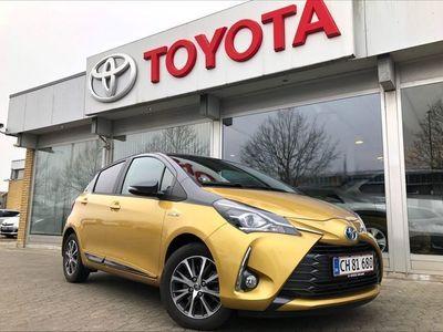 brugt Toyota Yaris 1,5 B/EL H3 Y20 E-CVT 100HK 5d