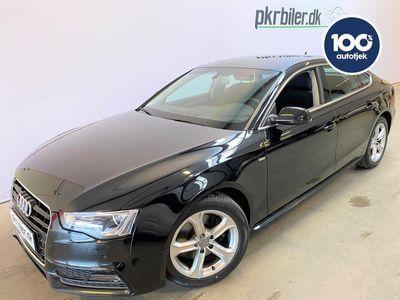 brugt Audi A5 Sportback 1,8 TFSI MULTITRONIC S-Line 177HK aut 5d