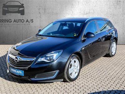brugt Opel Insignia Sports Tourer 1,6 CDTI Edition 136HK Stc 6g - Personbil - sort