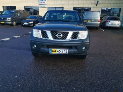 brugt Nissan King Navara 2,5 dCi 171Cab Mandskv. 4x4