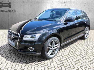 usado Audi Q5 2,0 TDI 150HK 5d 6g - Personbil - sort