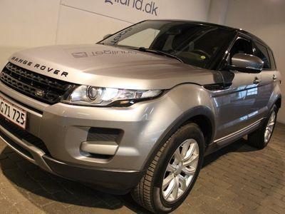 brugt Land Rover Range Rover evoque 2,2 TD4 Pure aut.