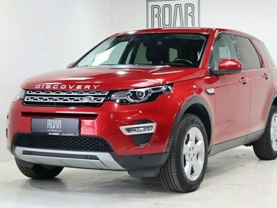 brugt Land Rover Discovery Sport 2,0 eD4 HSE Luxury 5d