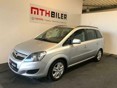 brugt Opel Zafira 1,8 16V Limited Edition 140HK